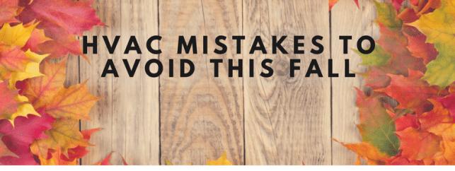 HVAC Mistakes