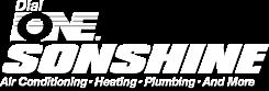 Dial One Sonshine logo (reverse)